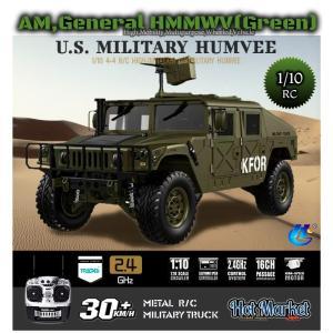 HG P408(FO)フルオペレーションKit 1/10 HUMVEE ハンヴィー(GREEN) 組立済 2.4Ghz 本格ホビーラジコン 4x4軍用車 HUMMER デルタフォース DEVGRU|parts758