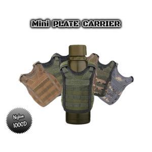 ミニ プレートキャリア 全6色 MOLLE SPC ボトルカバー プレキャリ ミリタリー サバゲー 装備 M4 SCAR AK|parts758