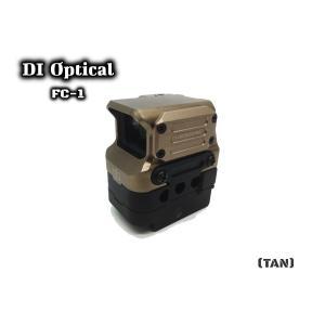 DI Optical FC1 Redドットサイト TAN 1倍 サバゲー M4 AK スカー ダットサイト ホロサイト|parts758