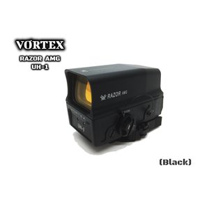 VORTEX RAZOR AMG UH1 ドットサイト Black 1倍 サバゲー M4 AK スカー ダットサイト ホロサイト|parts758