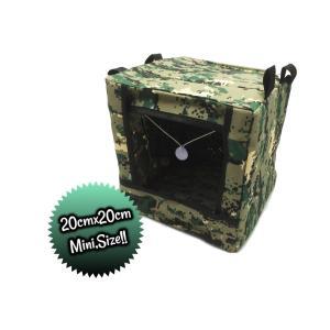 Mini シューティング ターゲットボックス(CAMO) BB弾回収 米軍 サバゲー エアーガン ガスガン|parts758