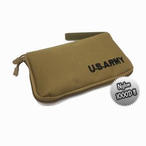 U.S.ARMY ハンドガンケース(TAN/コヨーテブラウン) 米軍 ピストルケース サバゲー エアーガン ガスブロ|parts758