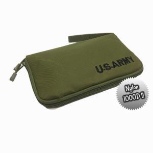 U.S.ARMY ハンドガンケース(O.D/グリーン) 米軍 ピストルケース サバゲー エアーガン ガスブロ|parts758