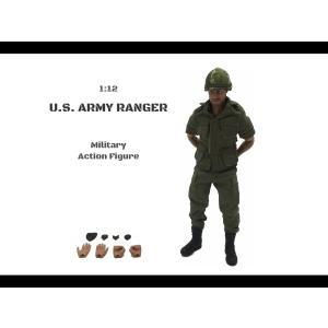 1/12 U.S アーミーレンジャー アクションフィギュア |parts758