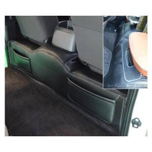 200系ハイエース ワイドボディー用デッキカバー フロント& リア ポケット付セット ブラック|partsaero