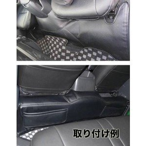 ハイエース200系標準用PVCラミネートレザーフロントリアポケット付デッキカバーセット|partsaero