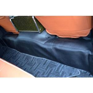 200系 ハイエース 1型2型3型4型 S-GL ワイド 収納ポケットなし リアデッキカバー PVCレザー製 partsaero