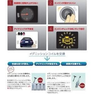 送料無料 安心の日本品質 日本特殊陶業  タント (H19年12月〜H21年12月) L375S L385S NGK イグニッションコイル U5170 3本|partsaero|02