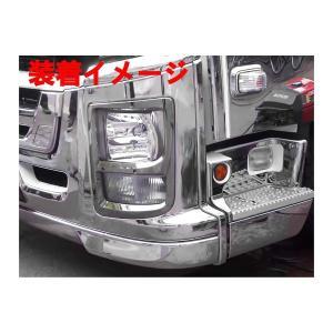 ギガ いすゞ ヘッドライトカバー メッキカバー ファイブスター ギガ いすゞ ベゼル 外装パネル  ZERO|partsaero