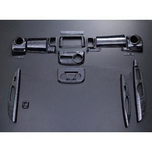 ウッド調 3D インテリアパネル ダイハツ タント タントカスタム L375S L385S 黒木目 16ピース ZERO partsaero