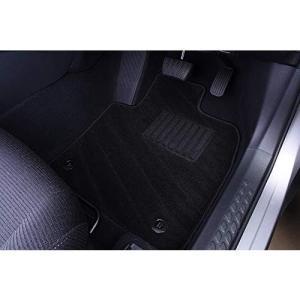 フロアマット C-HR NGX50 CHR ラゲッジマット ガソリン車用 織り柄 ブラック 6点セッ...