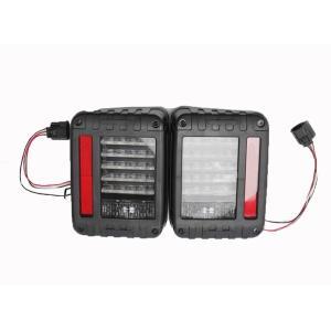 テールランプ ライト ジープ JEEP JK ラングラー LED アクリル ブラック AP-A001LR|partsaero