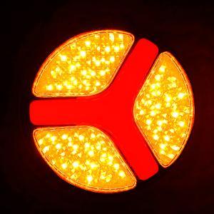 テールランプ ウインカー スモール 12V 24V 140mm LED ランプ ファイバー 国際規格 Eマーク 乗用車 トラック 防水 汎用 単個売り RM-ZT001|partsaero