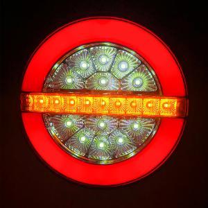 テールランプ バック スモール ウインカー 12V 24V 140mm LED ランプ ファイバー ユーロチェリーEマーク 乗用車 トラック 防水RM-ZT042LR|partsaero
