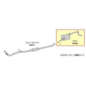 純正同等/車検対応マフラー ワゴンR MH21S MH22S HST品番:096-108|partsaero|02