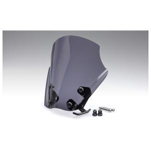 キジマ メーターバイザー [スモーク]   ハーレー ソフテイルブレイクアウト FXBR('18) HD-05106|partsbox5