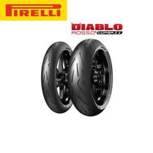 ピレリ PIRELLI DIABLO ROSSO CORSA2(ディアブロ ロッソコルサ2) リア 190/55 ZR 17 M/C (75W) TL PL8019227290745|partsbox5