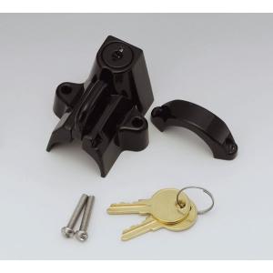 【○在庫あり→11月21日出荷】キジマ ヘルメットロック ブラック22-32MMヨウ 303-1514 partsboxpm