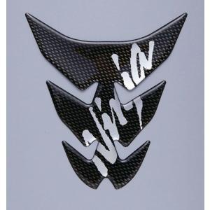 【○在庫あり→9月27日出荷】カワサキ純正 タンクパッド カーボン調「Ninja」 J2007-0038 partsboxpm