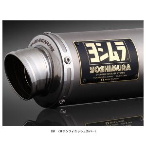 ヨシムラ 機械曲 GP-MAGNUMサイクロン フルエキマフラー [SSF]   スーパーカブ110('19) /クロスカブ110('19)  110A-40H-5U30|partsboxsj