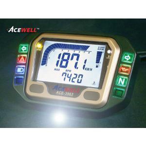 【△残1個→11月27日出荷】ACEWELL 汎用(12V)用 多機能デジタルメーターACE-3963 ACE-3963 【送料無料】(北海道・沖縄除く)|partsboxsj