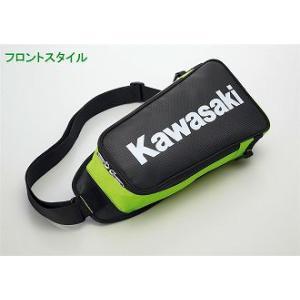 【○在庫あり→8月3日出荷】カワサキ純正 ボディバッグ J8911-0074 partsboxsj