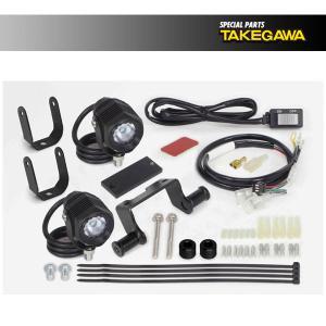 武川 LEDフォグランプキット950(2個入)  クロスカブ50/110  SP05-08-0471|partsboxsj