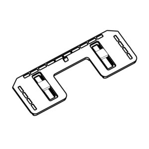 パナソニック Panasonic 温水洗浄便座用本体固定板(脱着板パッキン付属) ADL639ATM...