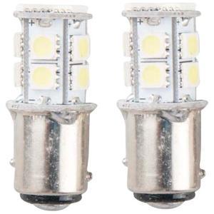 LEDバルブ 13連高輝度 ホワイト 2個セット BAY15D EnergyPrice(エナジープラ...