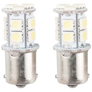 LEDバルブ 13連高輝度 ホワイト 2個セット BA15S EnergyPrice(エナジープライ...