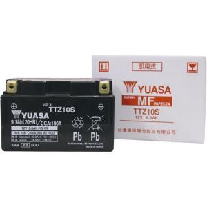 バイクバッテリー ユアサ YUASA TTZ10S (YTZ10S 互換)液入充電済み partsdirect