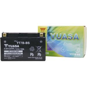 バイクバッテリー ユアサ YUASA YT7B-BS 液入充電済み partsdirect