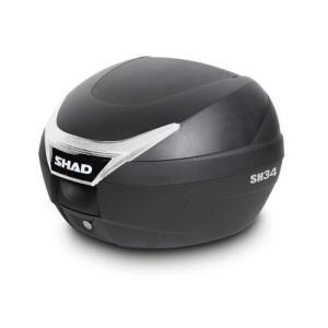 SH34 リアボックス  無塗装ブラック SHAD(シャッド)
