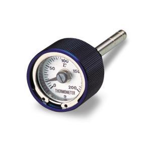 取寄 93338 ディップスティック油温計 モンキー/ゴリラ系用 ブルー/ホワイトパネル DAYTO...