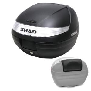 【セット売り】SH29 トップケース ブラック バックレスト セット