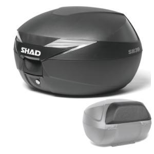 【セット売り】SH39 リアボックス バックレスト セット SHAD