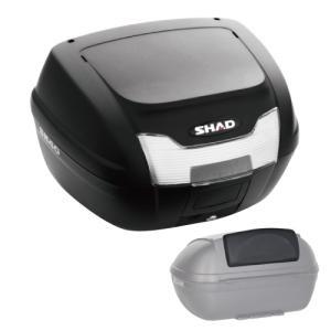 【セット売り】SH40 リアボックス バックレスト セット SHAD