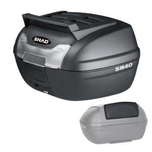 【セット売り】SH40CGトップケース ブラック バックレストセット