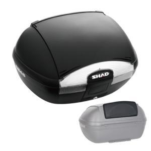 【セット売り】SH45 トップケース ブラック バックレスト セット