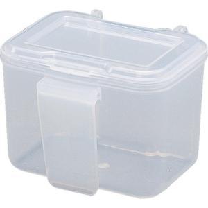 取寄 WC-90 パーツ収納 ウエストケース 90×81×70 アイリスオーヤマ クリア 1個