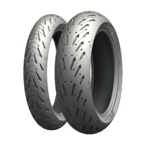 取寄 チューブレスタイプ 708160 ROAD 5 R 180/55ZR17 M/C (73W) TL MICHELIN(ミシュラン) チ... partsdirect
