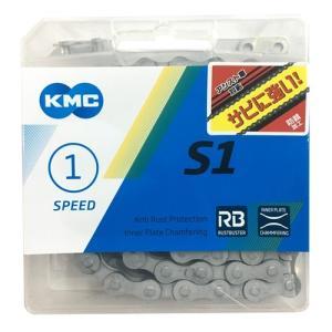 シングルギヤ用 KMC-Z410RB Z410RB ハイガードチェーン 1/2×1/8 130L K...