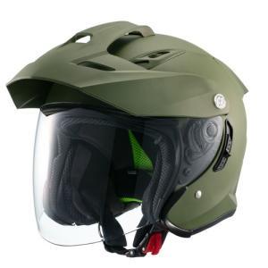 ジェット 01001626 ジェットヘルメット MSJ1 TE-1 XL マットカーキ マルシン工業...