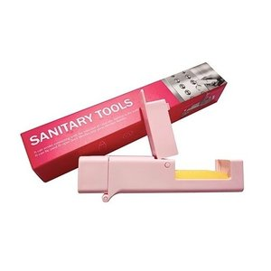 ノータッチスティック携帯用 安心ノータッチハンド ピンク