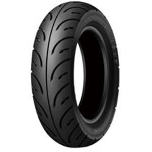 チューブレスタイプ 305519 RUNSCOOT D307 80/100-10F/R46J TL DUNLOP(ダンロップ) チューブレス... partsdirect