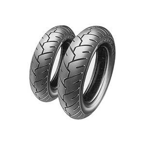 取寄 チューブレスタイプ/チューブタイプ 038030 S1 80/100-10 F/R 46J TL/TT MICHELIN(ミシュラン)... partsdirect