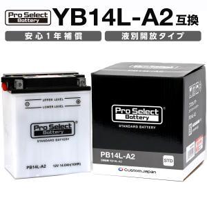 YB14L-A2互換 PB14L-A2 PSB 液別タイプ(開放型) バッテリー 1年保証 CXカス...