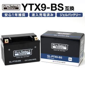 1個売り GL-PTX9-BS YTX9-BS 互換 ジェルタイプ 液入充電済 の商品画像|ナビ