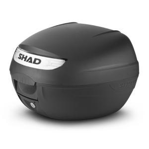 SH26 リアボックス 無塗装ブラック SHAD(シャッド)