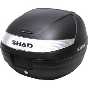 SH29 リアボックス 無塗装ブラック SHAD(シャッド)